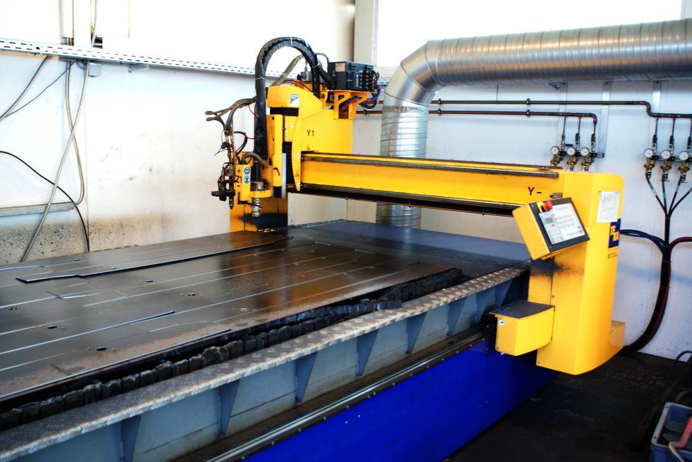 CNC-Plasma-Autogen-Schneidmaschine